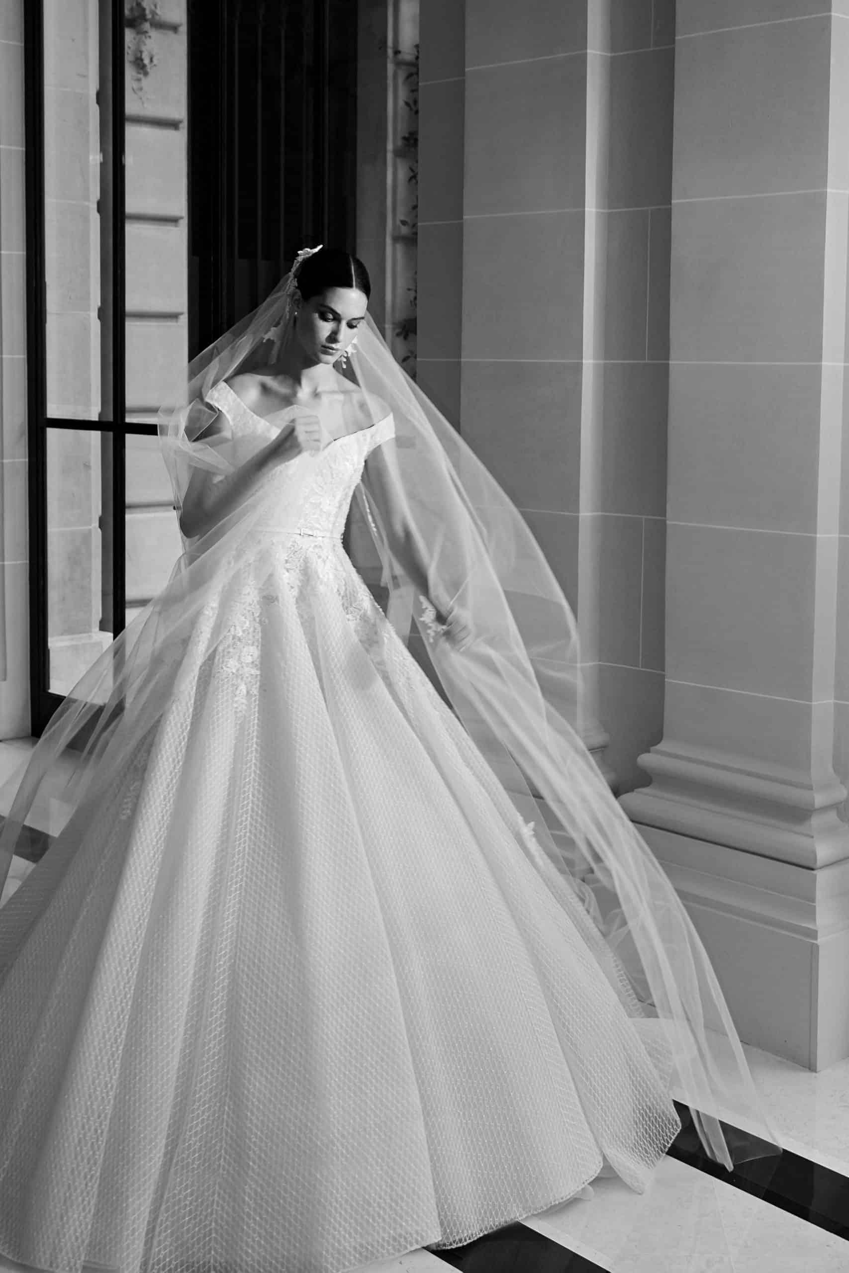 princess wedding dress by Elie Saab
