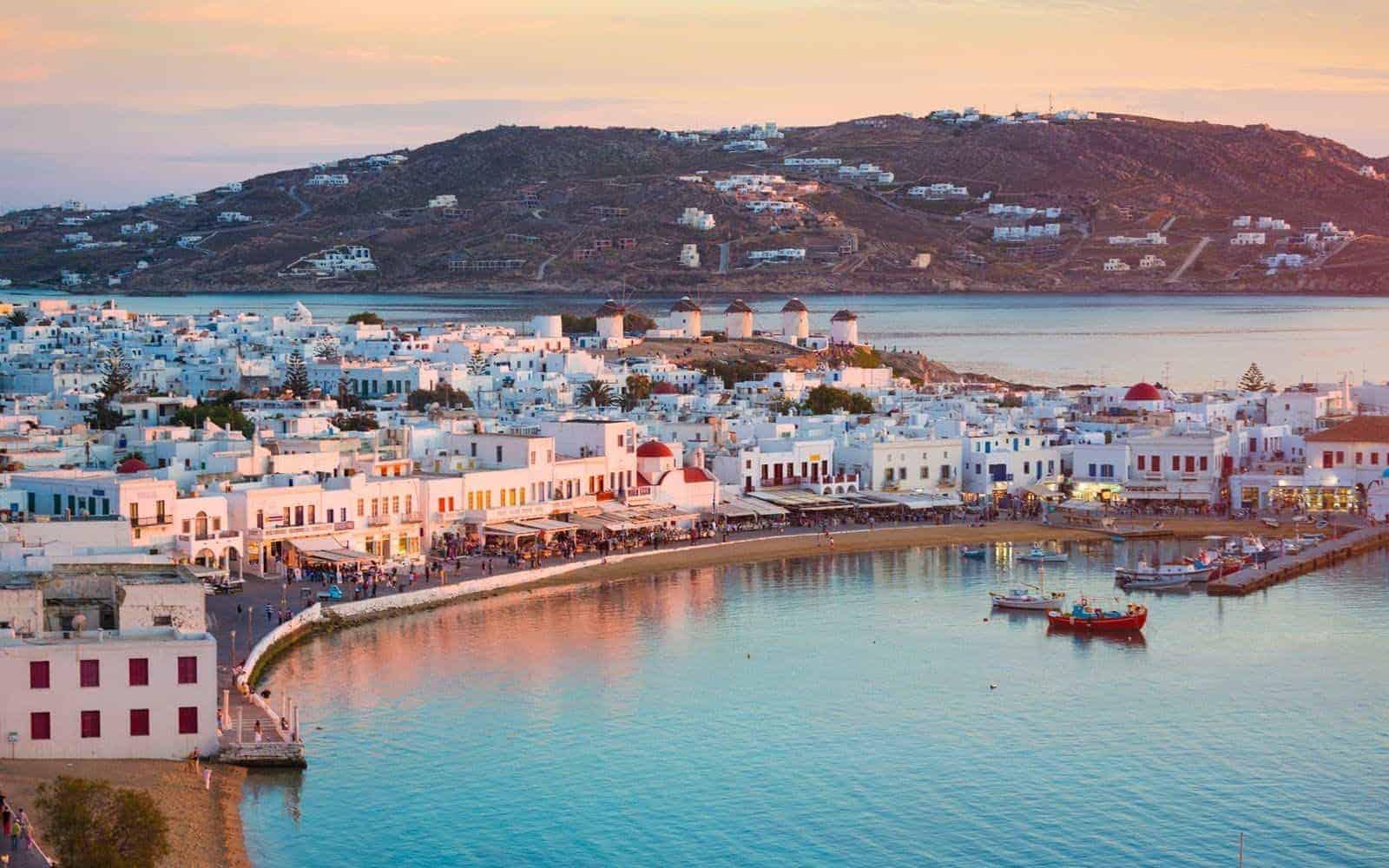 greece honeymoon mykonos