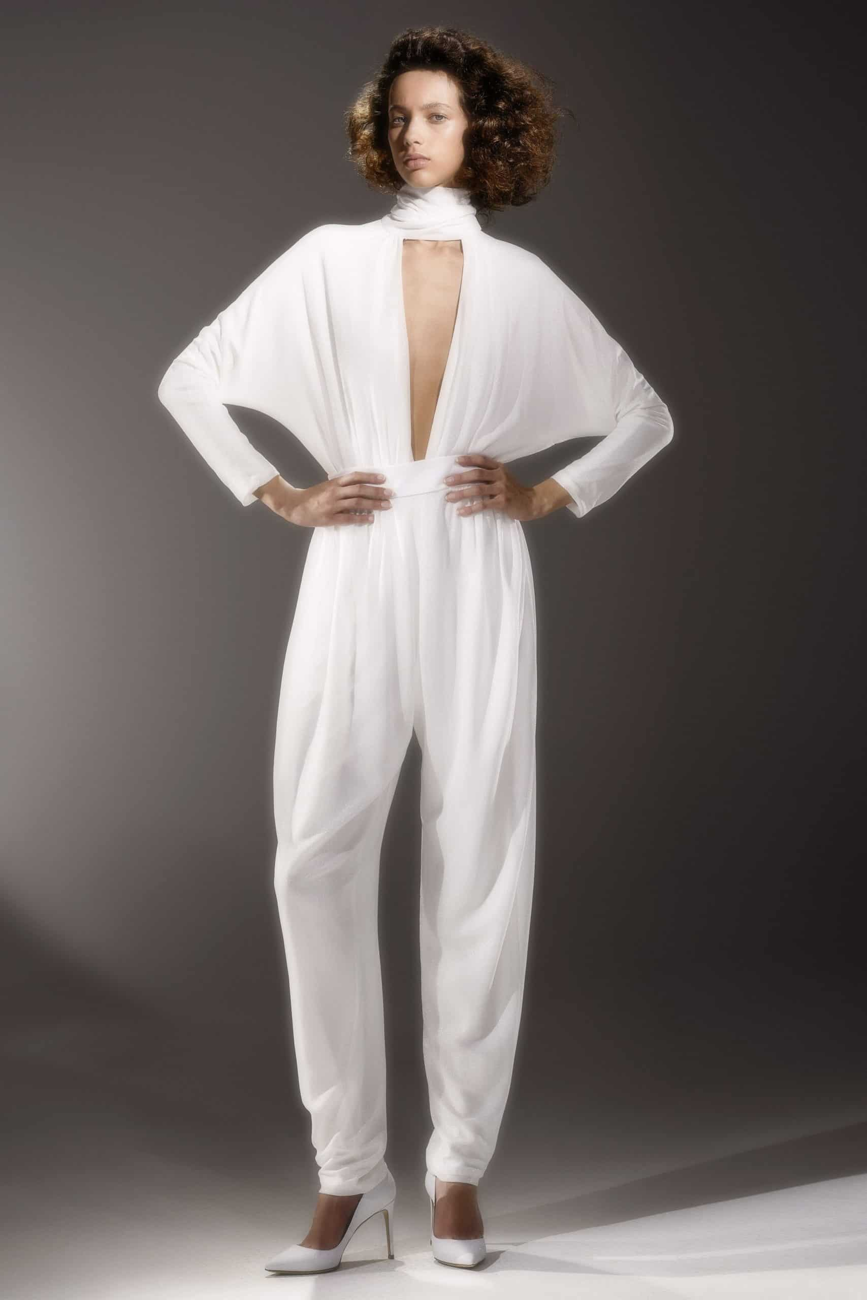 jumpsuit wedding dress by Viktor and Rolf