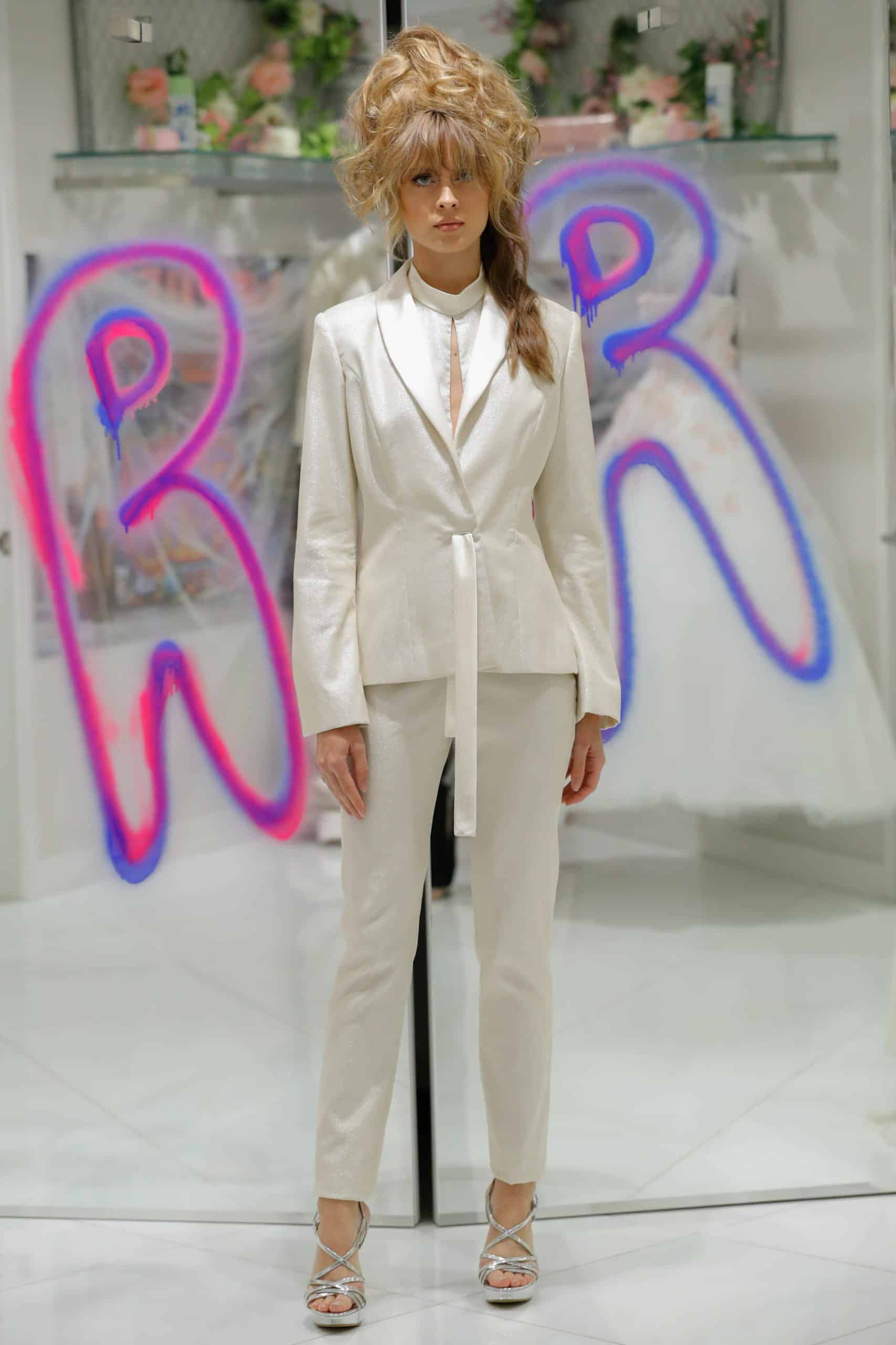 suit wedding dress collection fall 2019 by Randi Rahm
