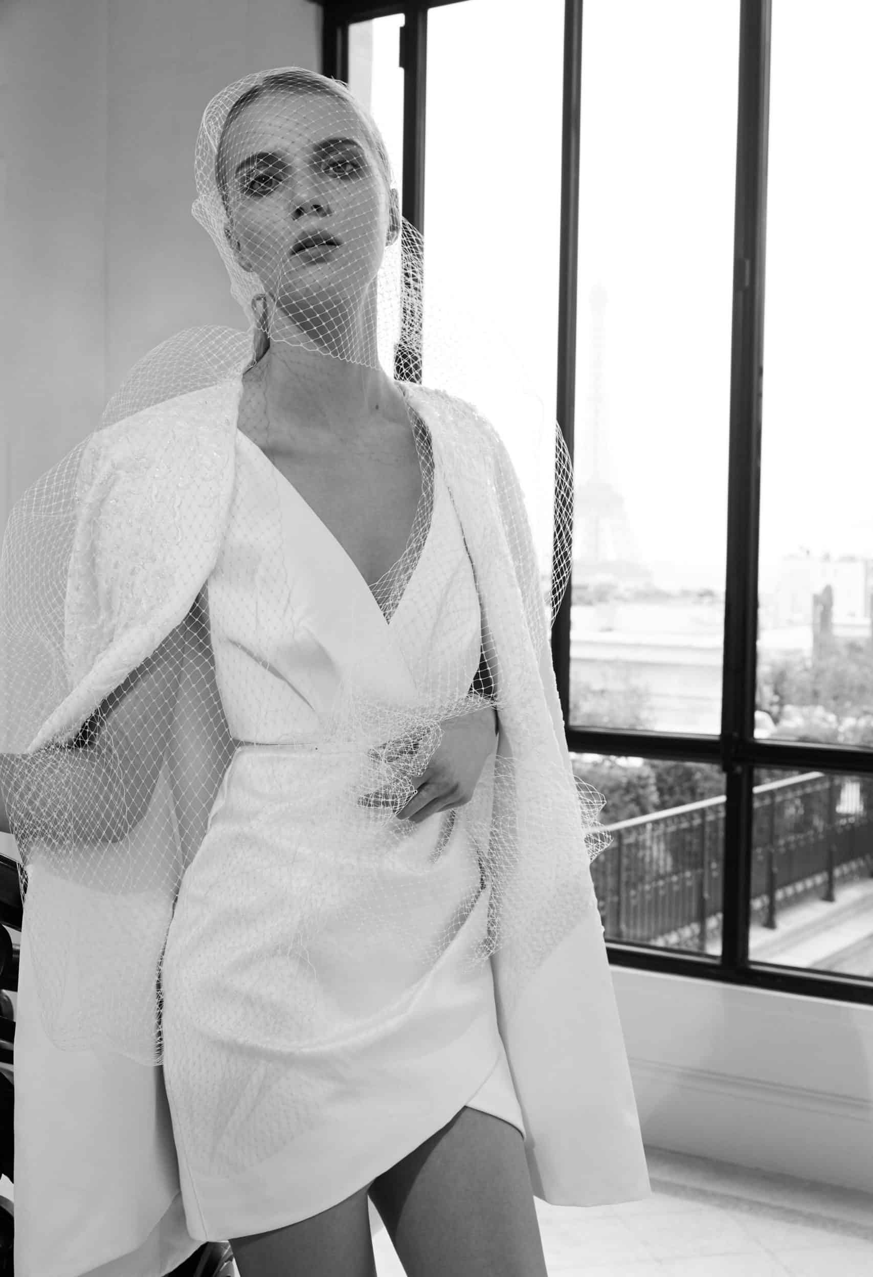 suit wedding dress collection fall 2019 by Elie Saab