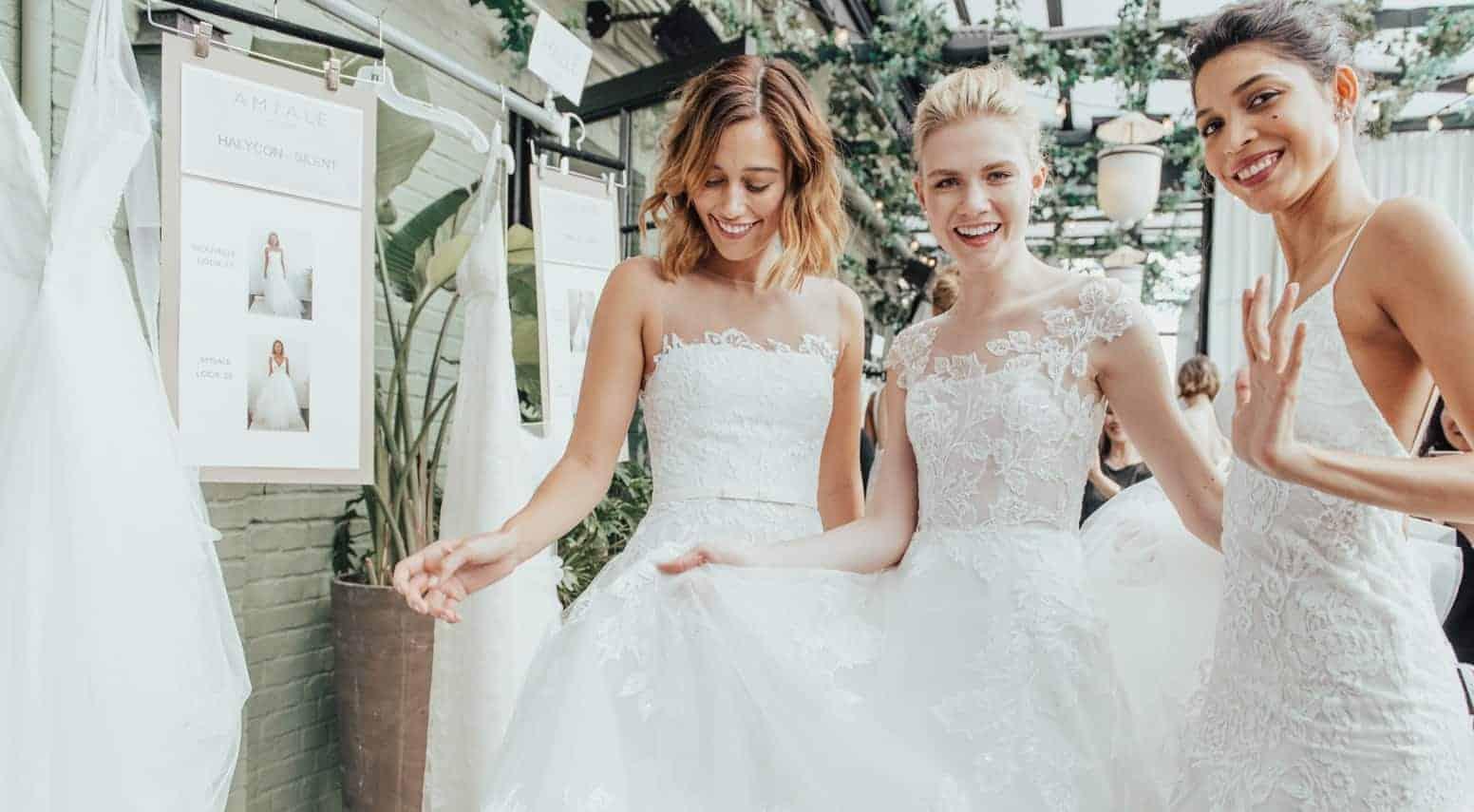 wedding dresses trends Fall 2019