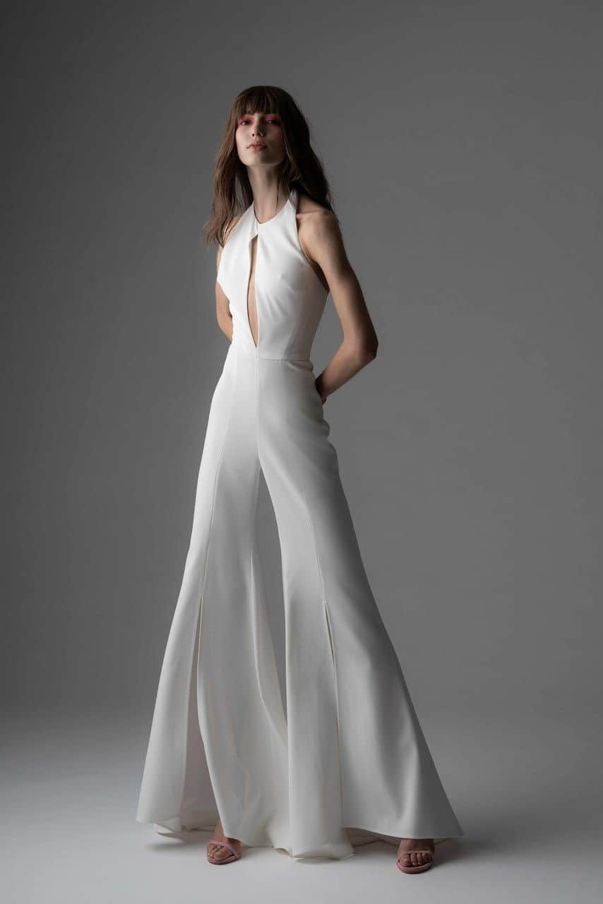 jumpsuit wedding dress collection fall 2019 by Rivini by Rita Vinieris
