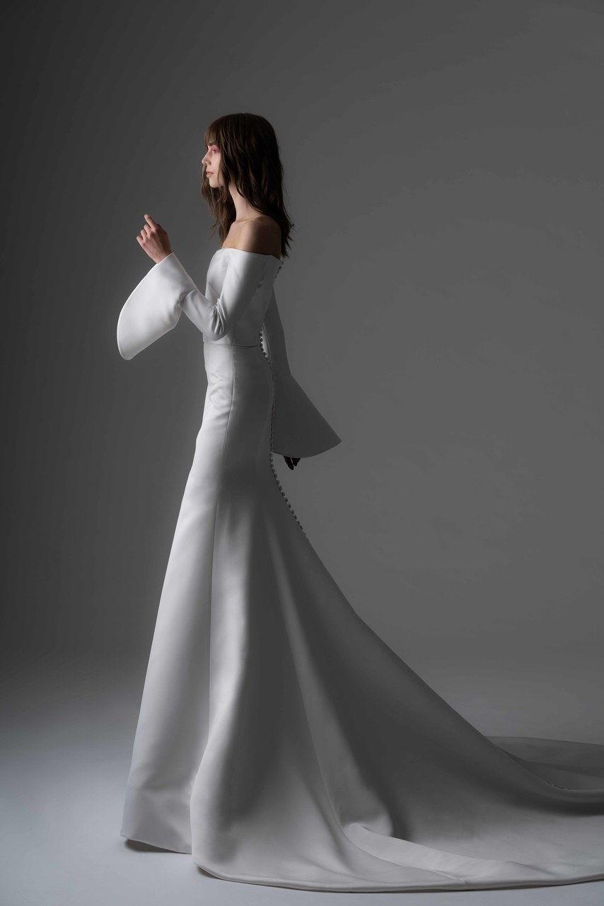 wedding dress like Meghan Markle collection fall 2019 by Rivini By Rita Vinieris
