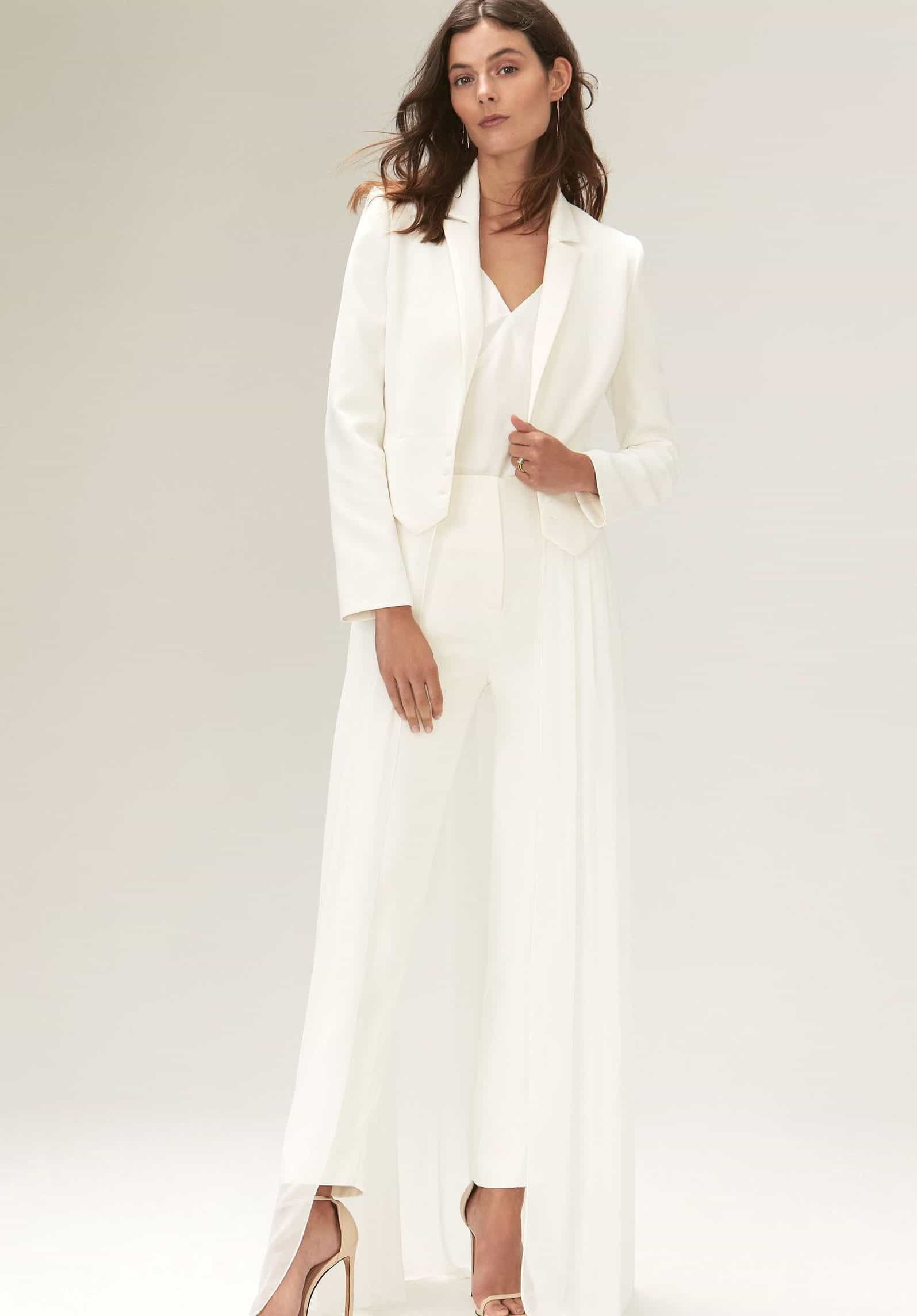 suit wedding dress collection fall 2019 by Savannah Miller