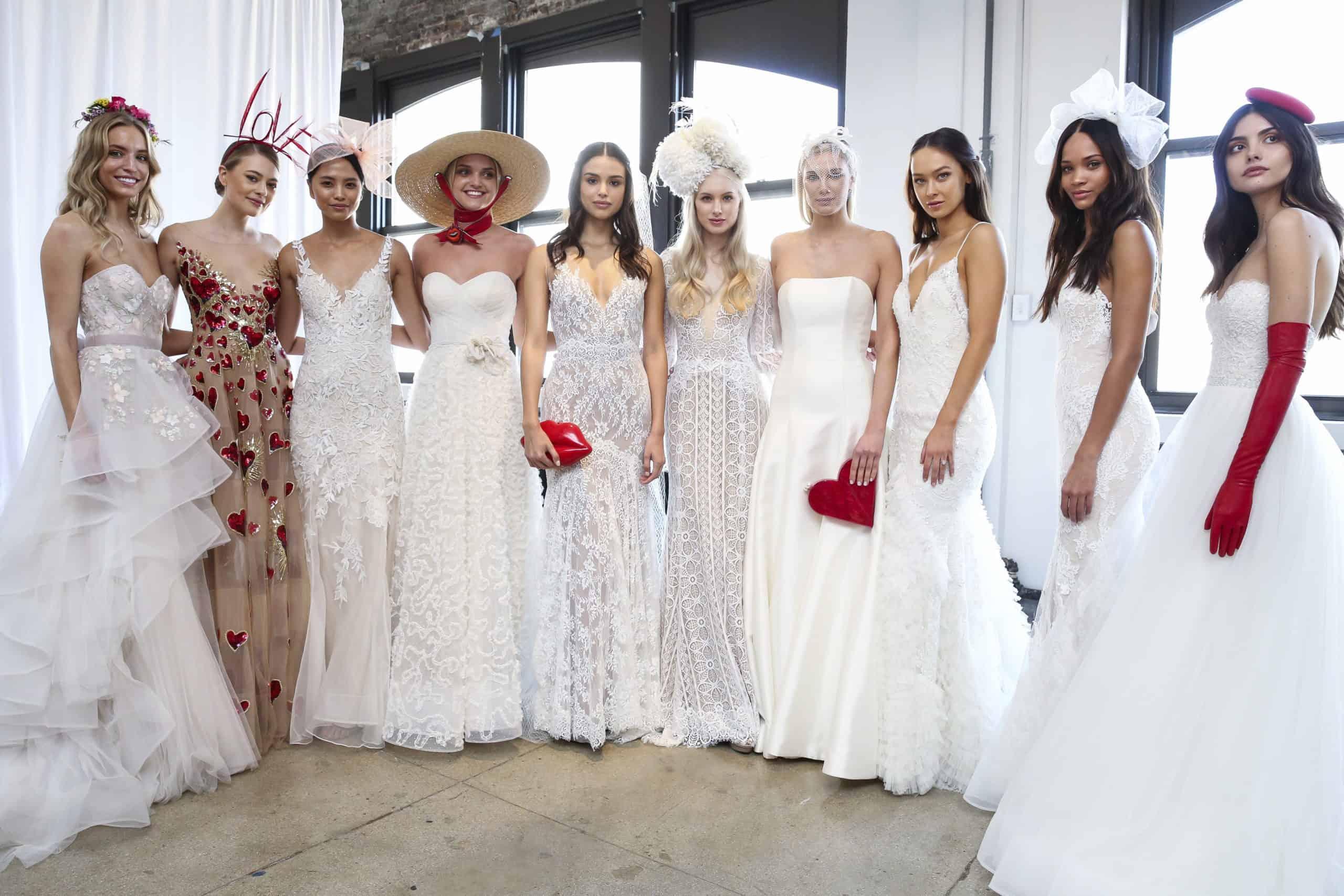 wedding dresses trends spring 2019