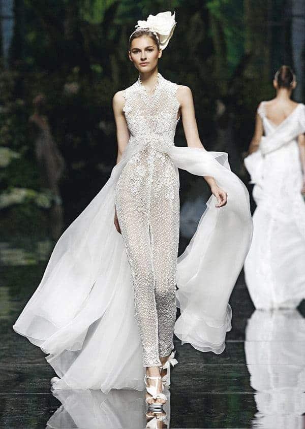 wedding dress lace jumpsuit