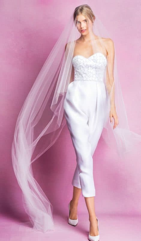 wedding dress jumpsuit