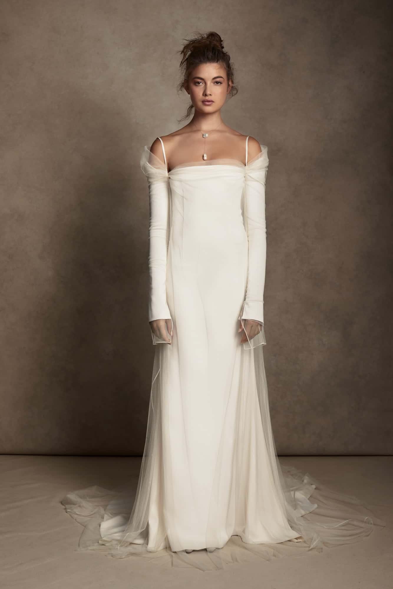 wedding dresses by Danielle Frankel