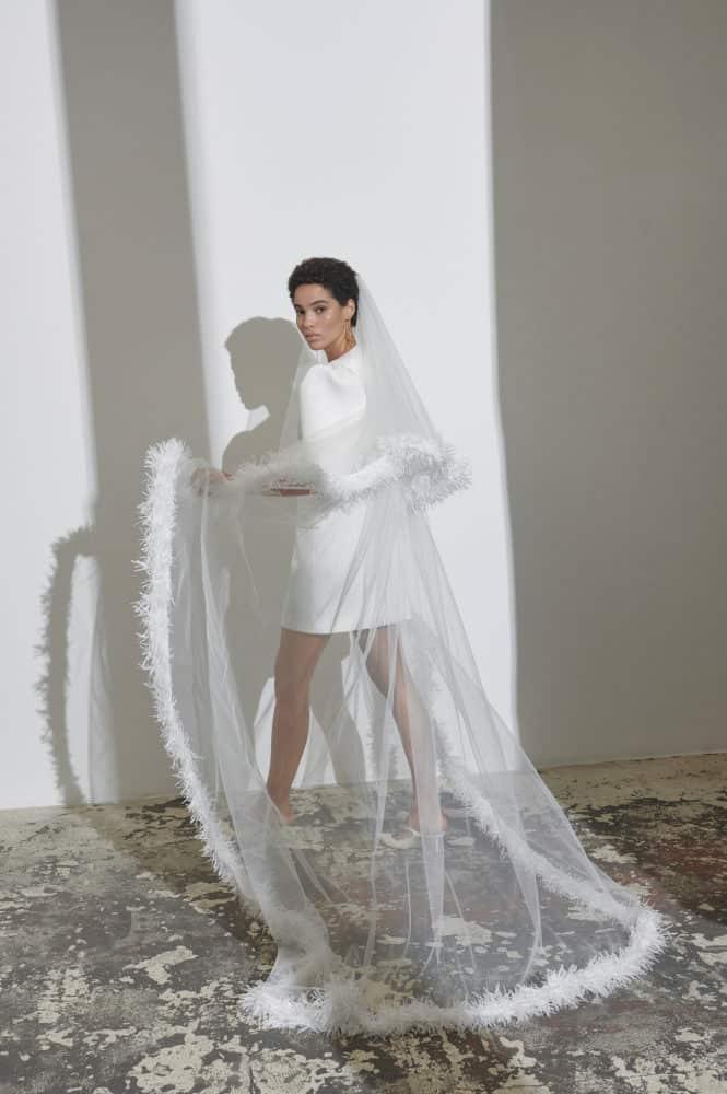 a short wedding dresses by Kaviar Gauche