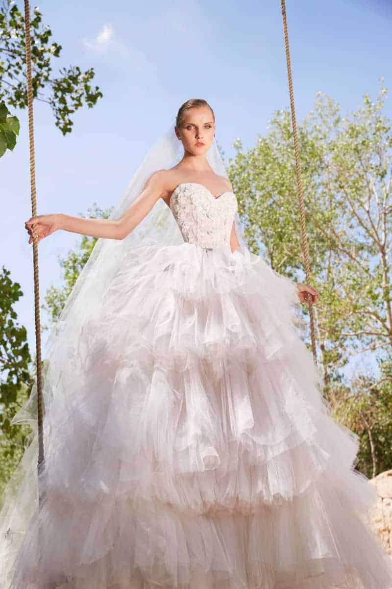 wedding dresses by Elie Saab