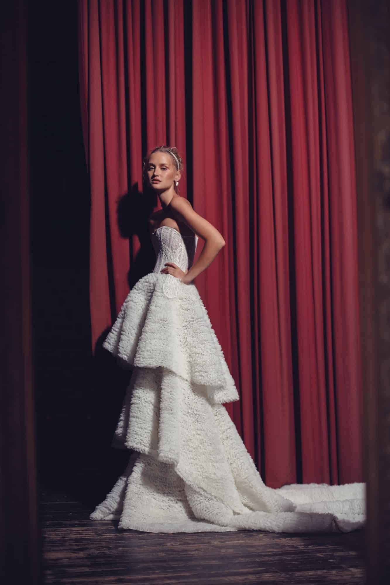 wedding dresses by Kim Kassas