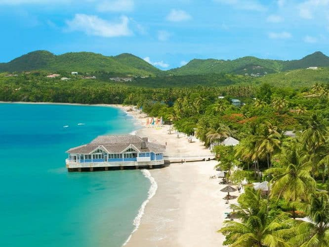 honeymoon Caribbean Saint Lucia