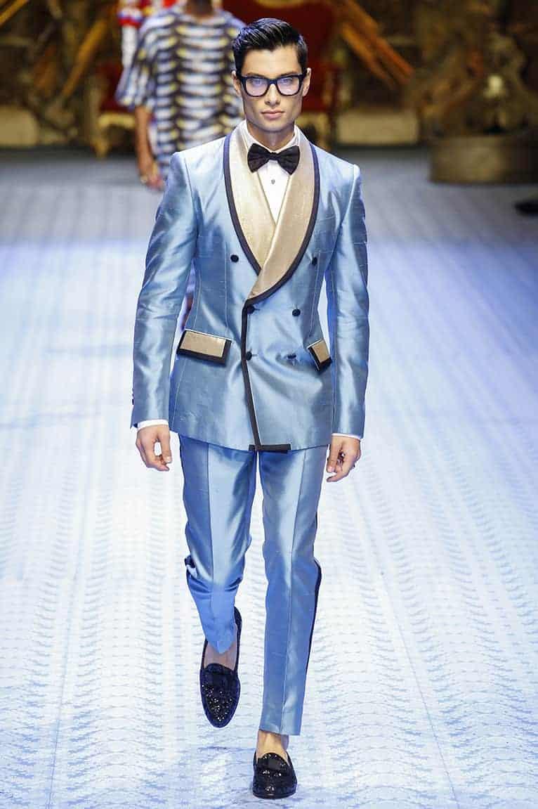 γαμπριάτικο κοστούμι από Dolce Gabbana