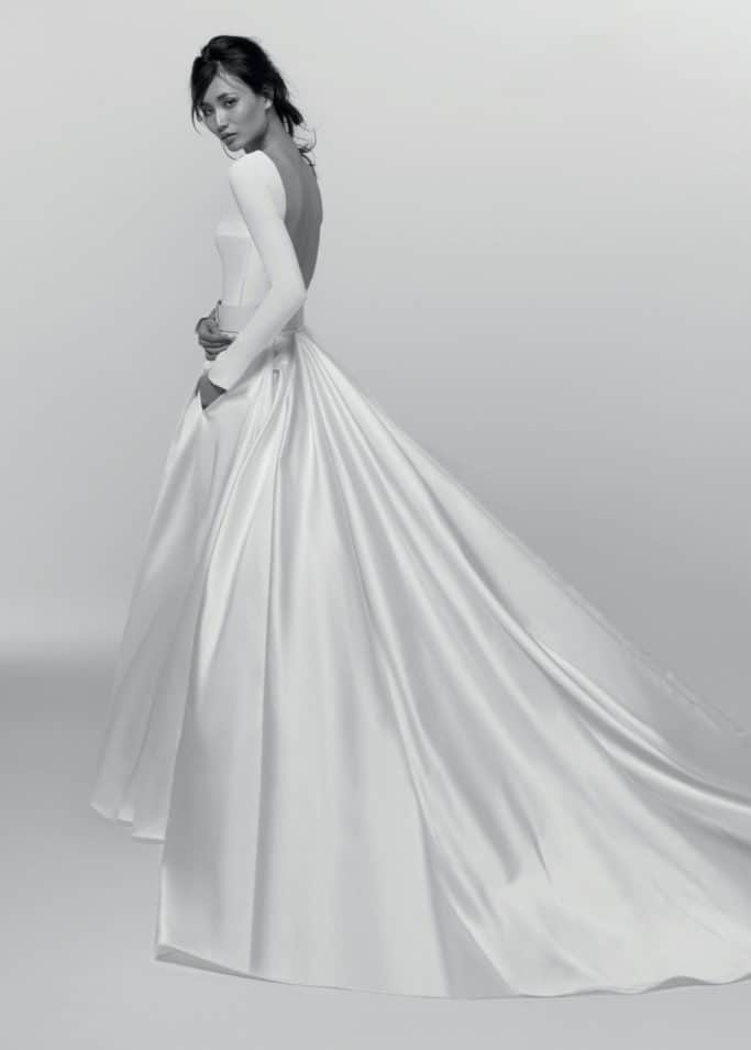 wedding dress like Meghan Markle by Alessandra Rinaudo