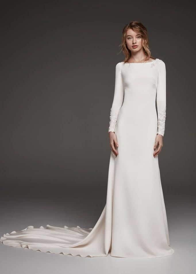 wedding dress like Meghan Markle by Pronovias