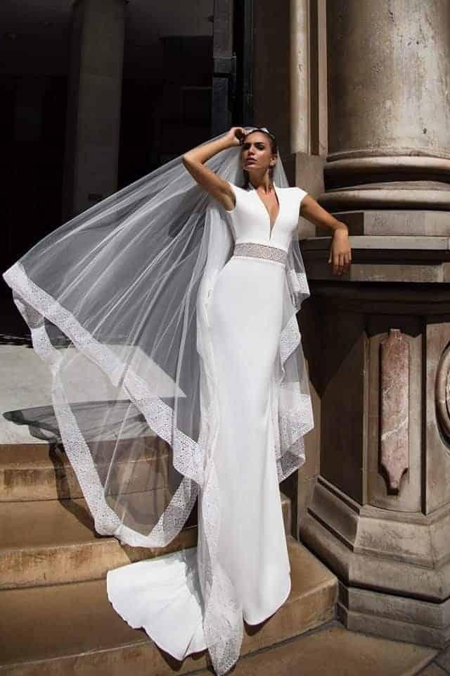 wedding dress like Meghan Markle by Ida Torez