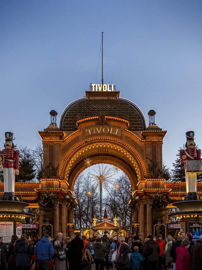 honeymoon Denmark Tivoli Gardens