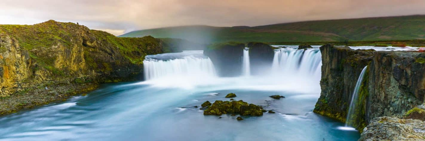 honeymoon Europe Iceland Godafoss