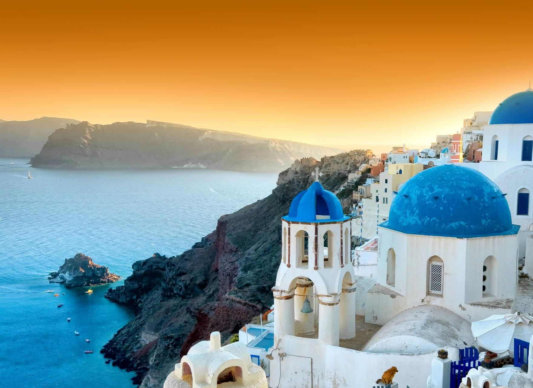 honeymoon top 10 destination Santorini
