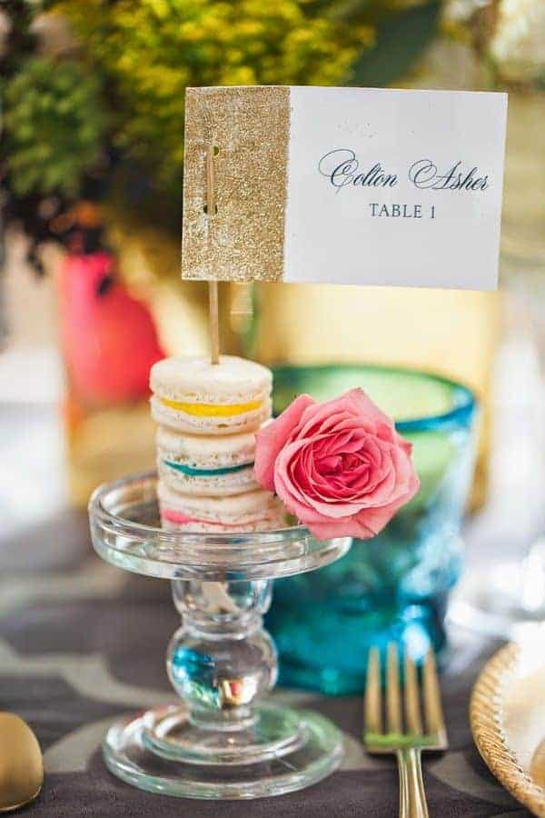 wedding table decoration idea for summer weddings