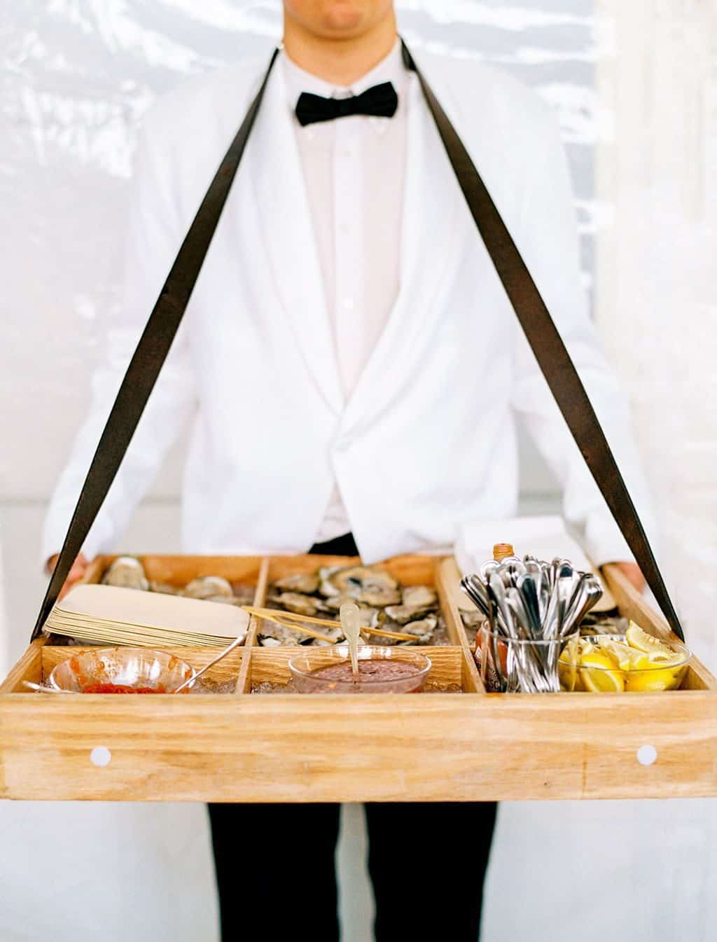 oyster food station