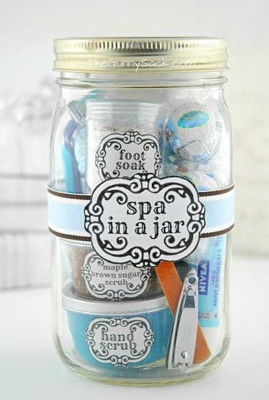 wedding spa in a jar