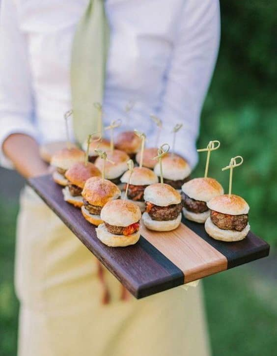 burger catering