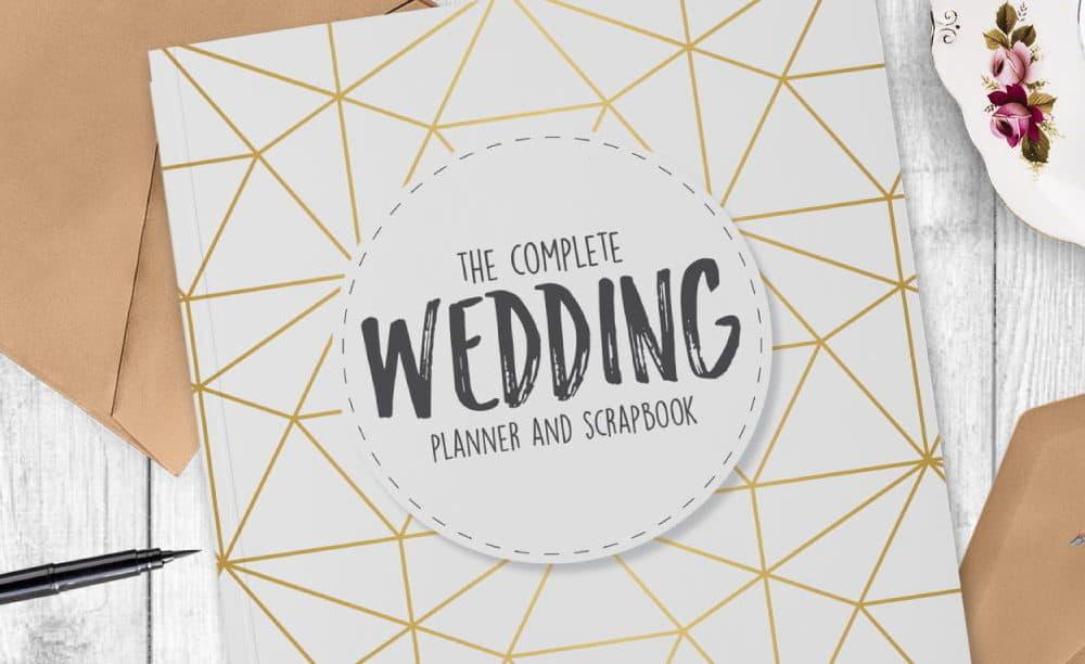 wedding planner scrapbook