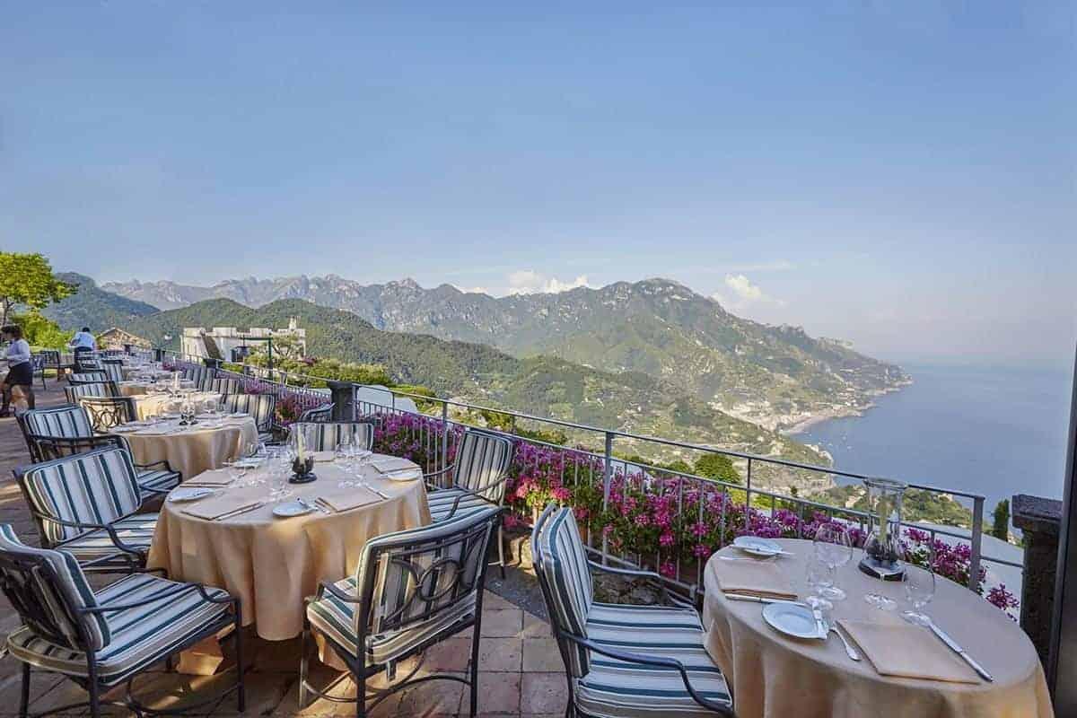 honeymoon top 10 European resorts Belmond Hotel Caruso in Italy