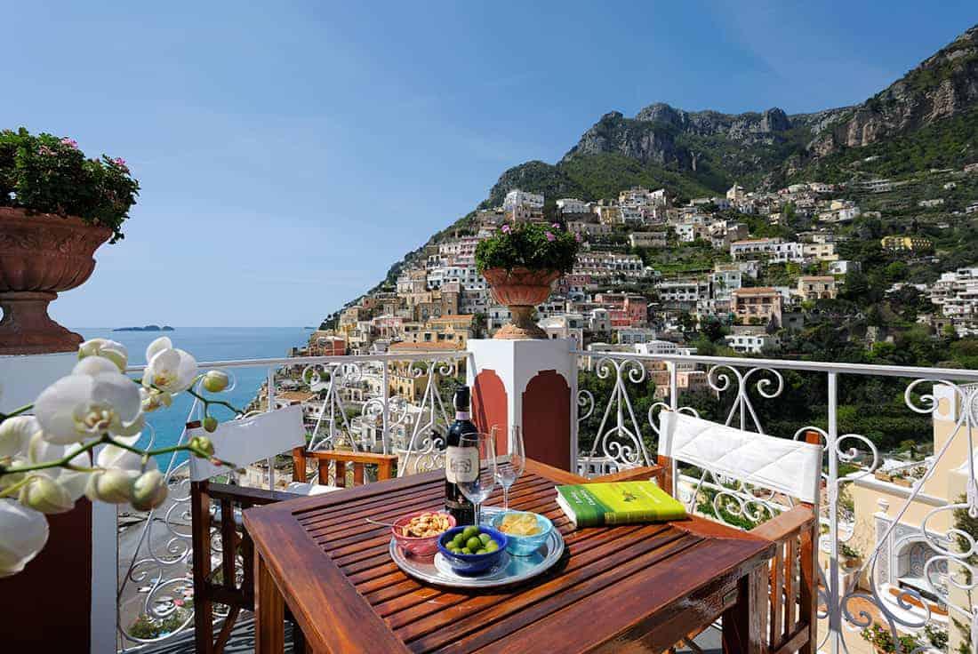 honeymoon top 10 European resorts Le Sirenuse in Italy