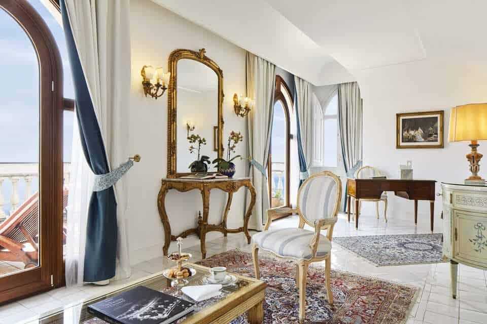 honeymoon top 10 European resorts Palazzo Avino in Italy