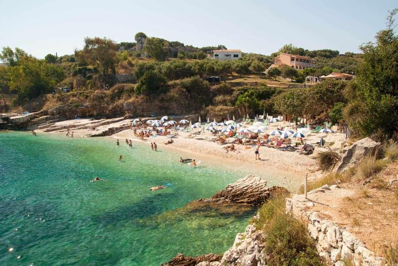 greece corfu honeymoon