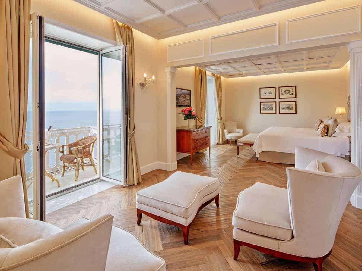 honeymoon Europe South Italy Capri Hotel