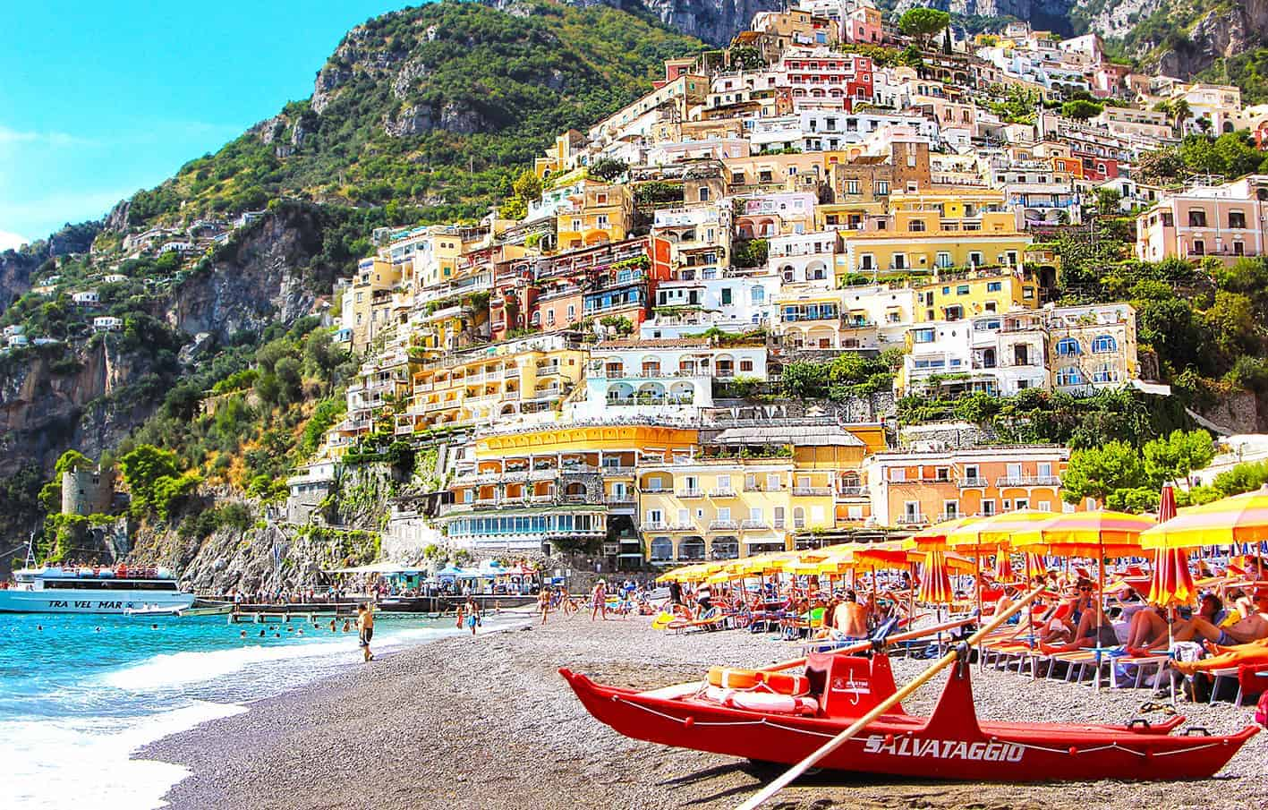 honeymoon Europe South Italy