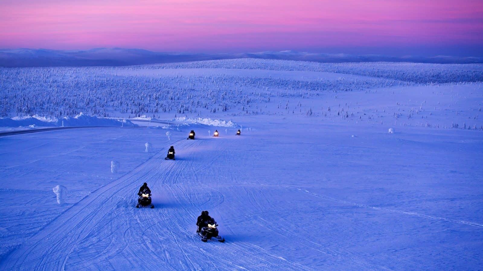 honeymoon top 10 alternative destinations Lapland Finland