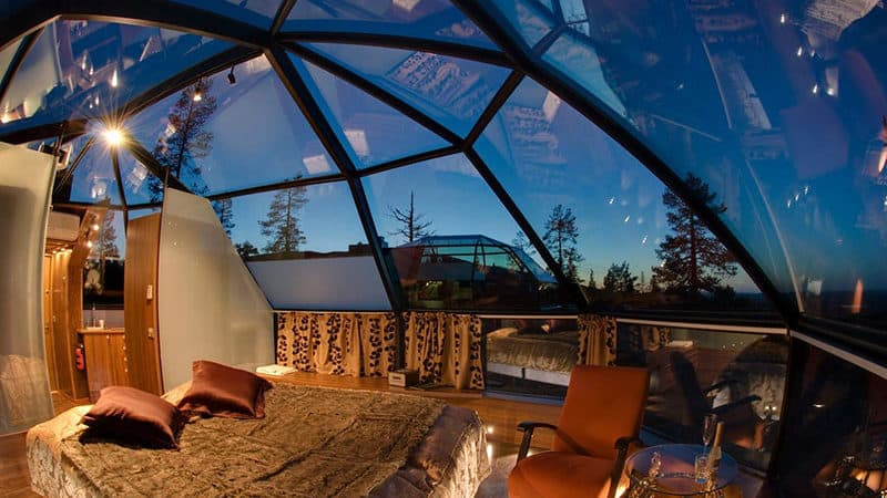honeymoon top 10 alternative destinations Lapland Finland Arctic Resort