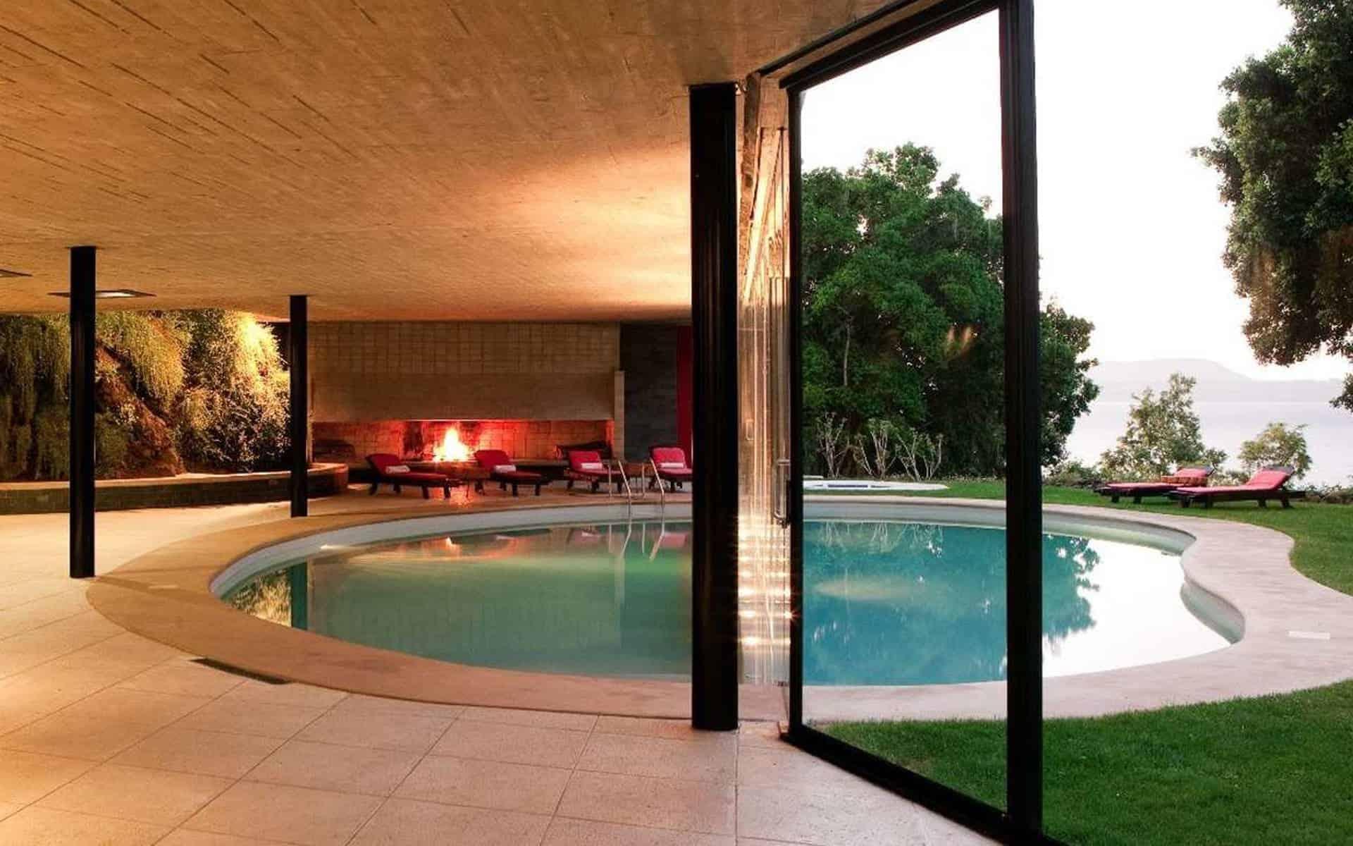 honeymoon top 10 alternative destinations Pucon Chile Antumalal Hotel